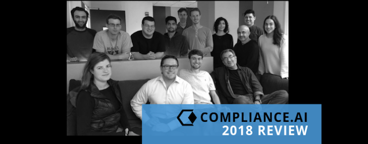 Compliance.ai Year in Review 2018