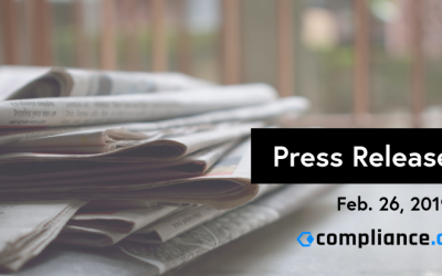 Feb 2019 Compliance.ai Press Release