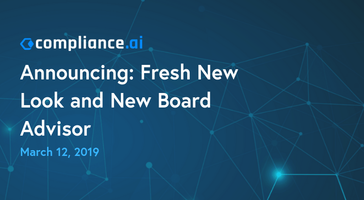 Announcing Fresh New Look and new Board Advisor