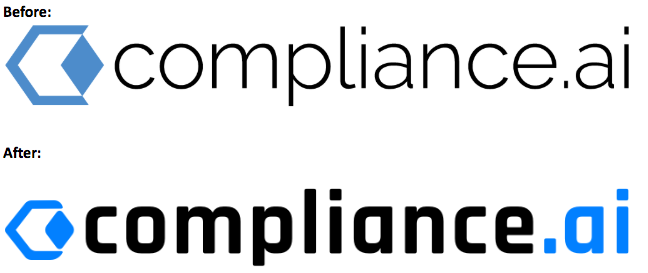 Compliance.ai Logo Comparison
