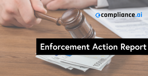 Enforcement Action Report