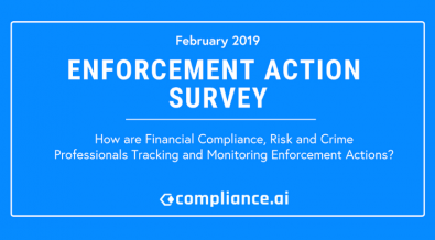 Enforcement Action Survey Blog Website