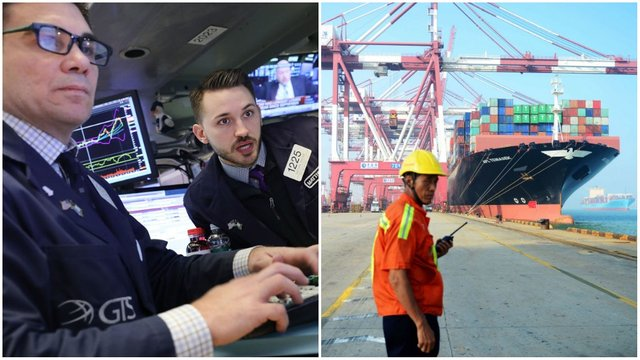 Stocks plummet as Trump's trade war with China escalates