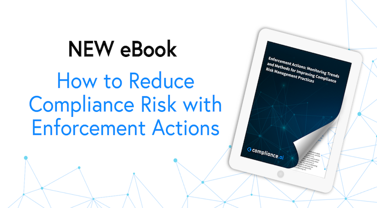 eBook How to Reduce Compliance Risk with Enforcement Actions