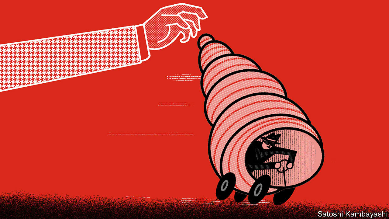 The war on money-launderers' vehicle of choice intensifies