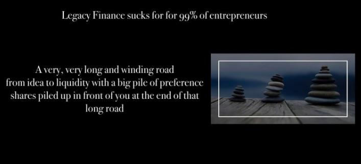 Real Entrepreneurs want to STO