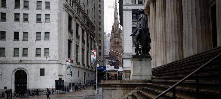 Wall Street jumps at open on coronavirus slowdown hopes