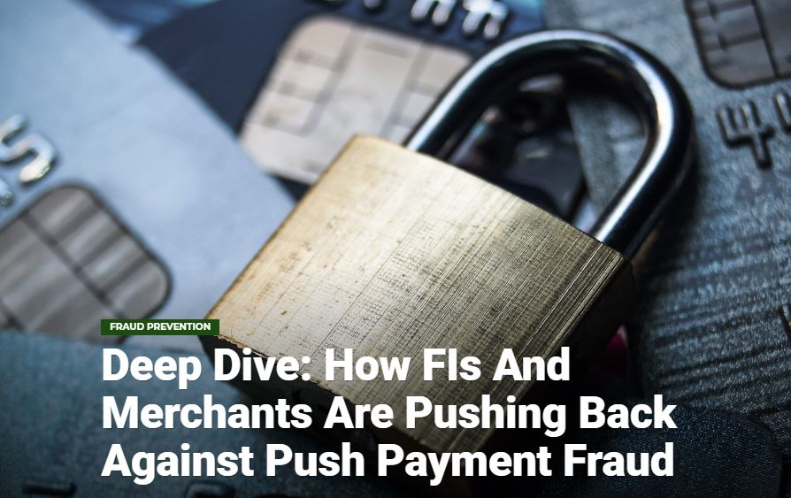 Deep Dive: How FIs and Merchants Are Pushing Back Against Push Payment Fraud